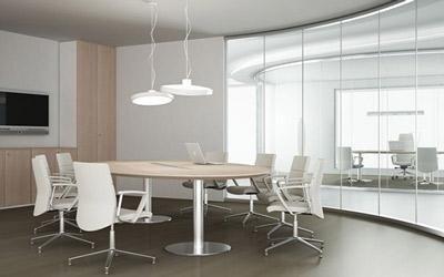 ufficio bianco completo