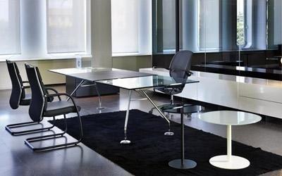 tavolo vetro ufficio
