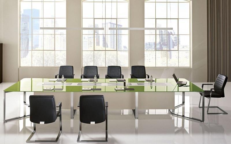 tavolo verde laccato