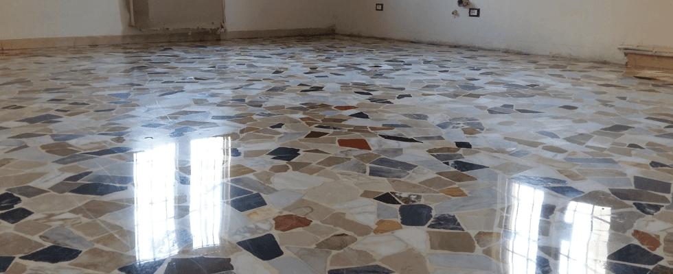 levigatura e lucidatura pavimenti