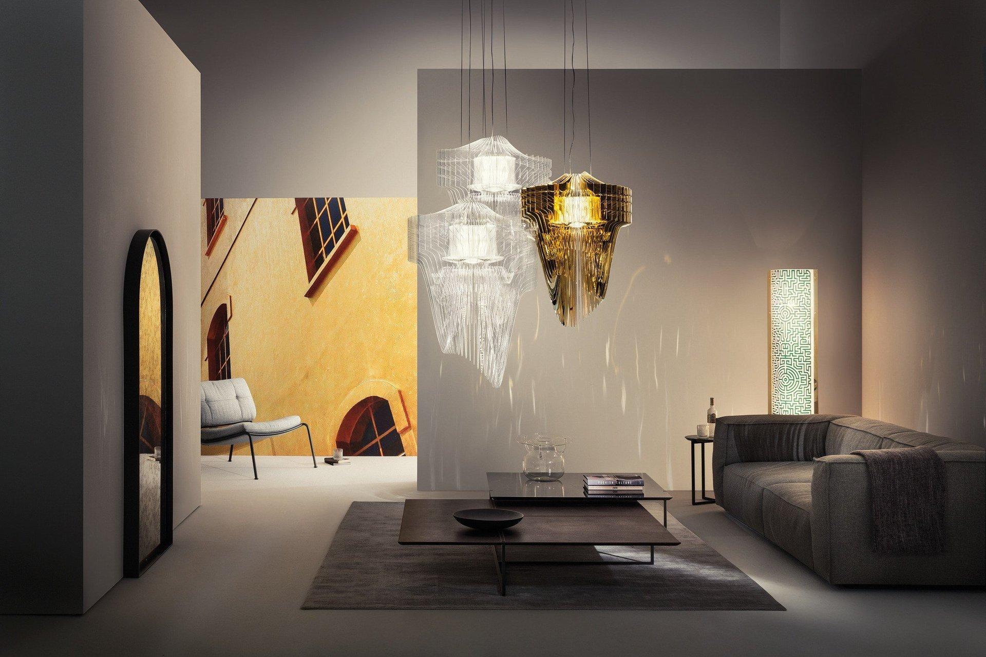 Design di luci illuminazione interni torino ristructura