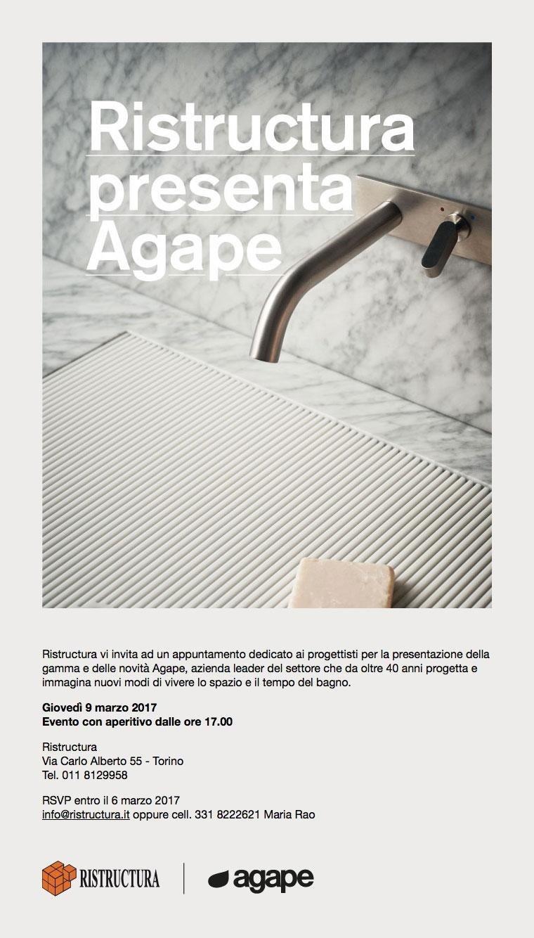 evento Agape design 2017