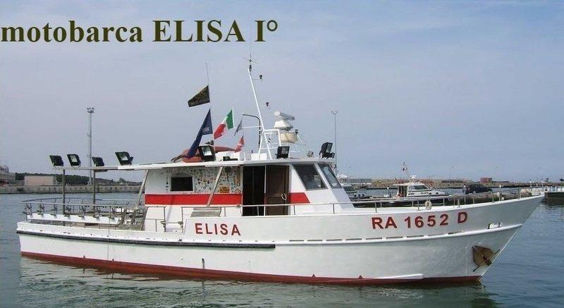 la motobarca Elisa I