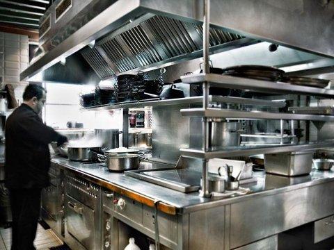 piano cucina acciaio inox