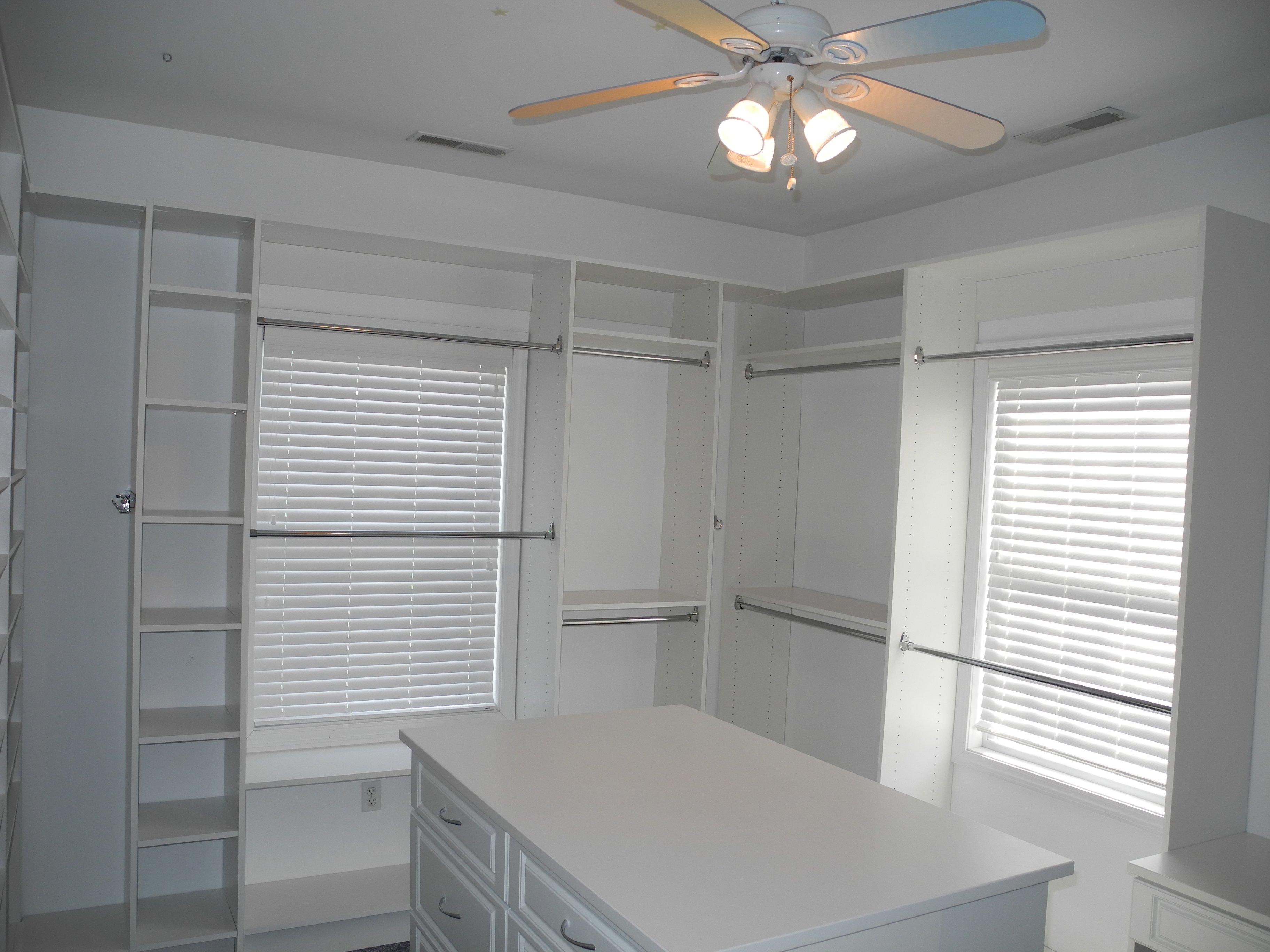 Bedroom Converted Into Walk In Closet