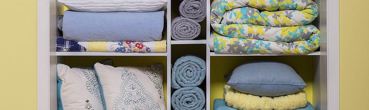 Custom Linen Closet System Installation