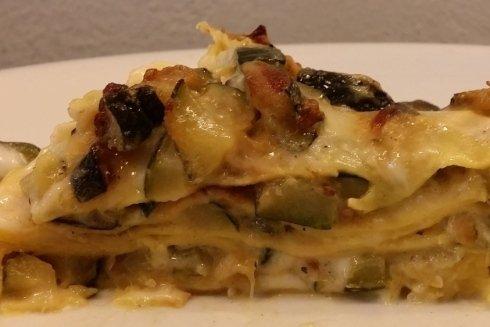 Lasagnetta di zucchine e robiola