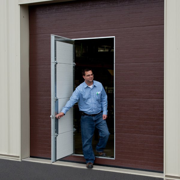 PASS DOOR Custom pass doors are available on the 2000 and 700 Series & Insulated Steel 700 Series pezcame.com