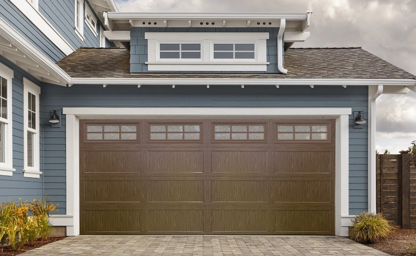 Stand Out Specialty Glass Enhances Garage Doors