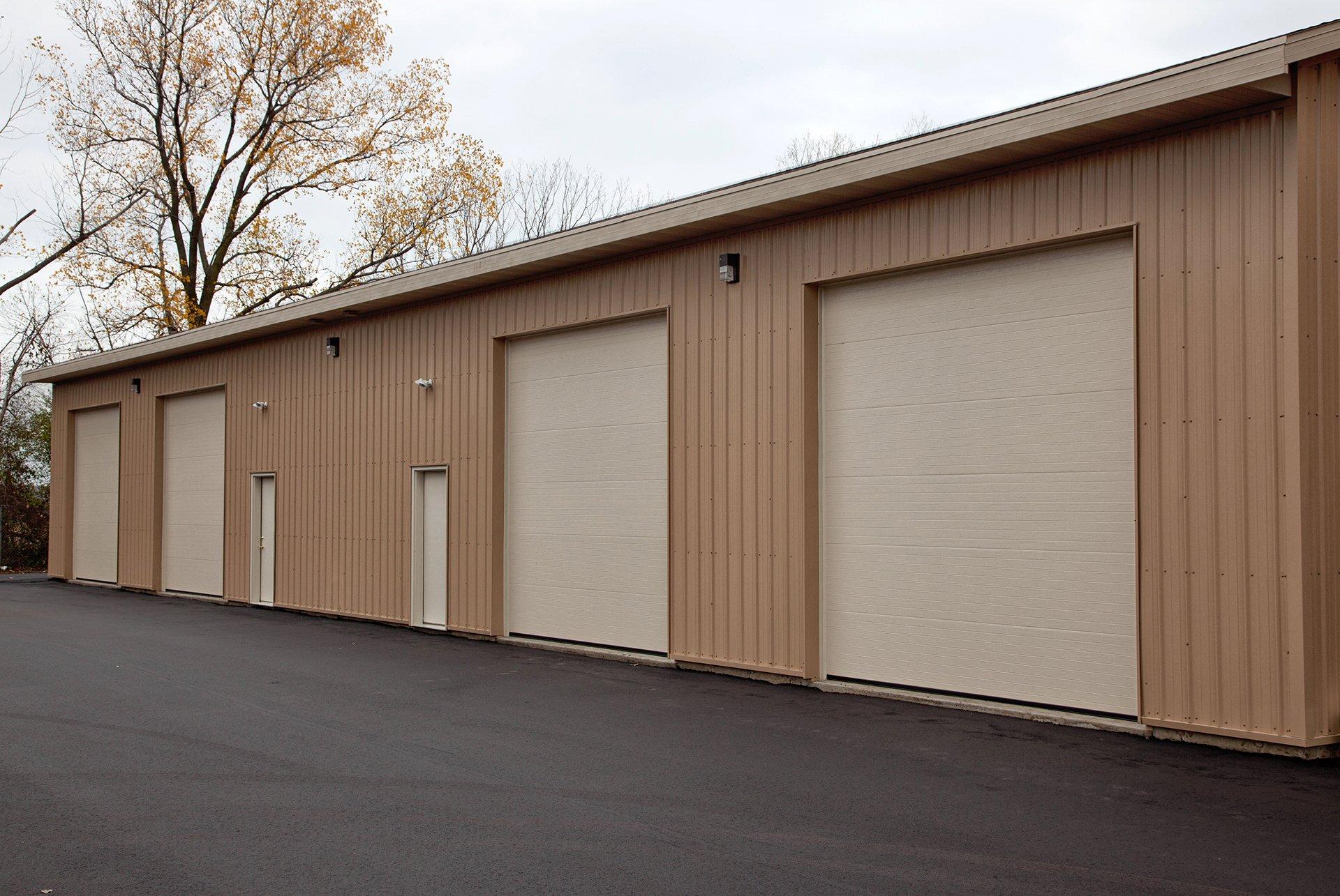 Minimum height of garage door - Slide Title