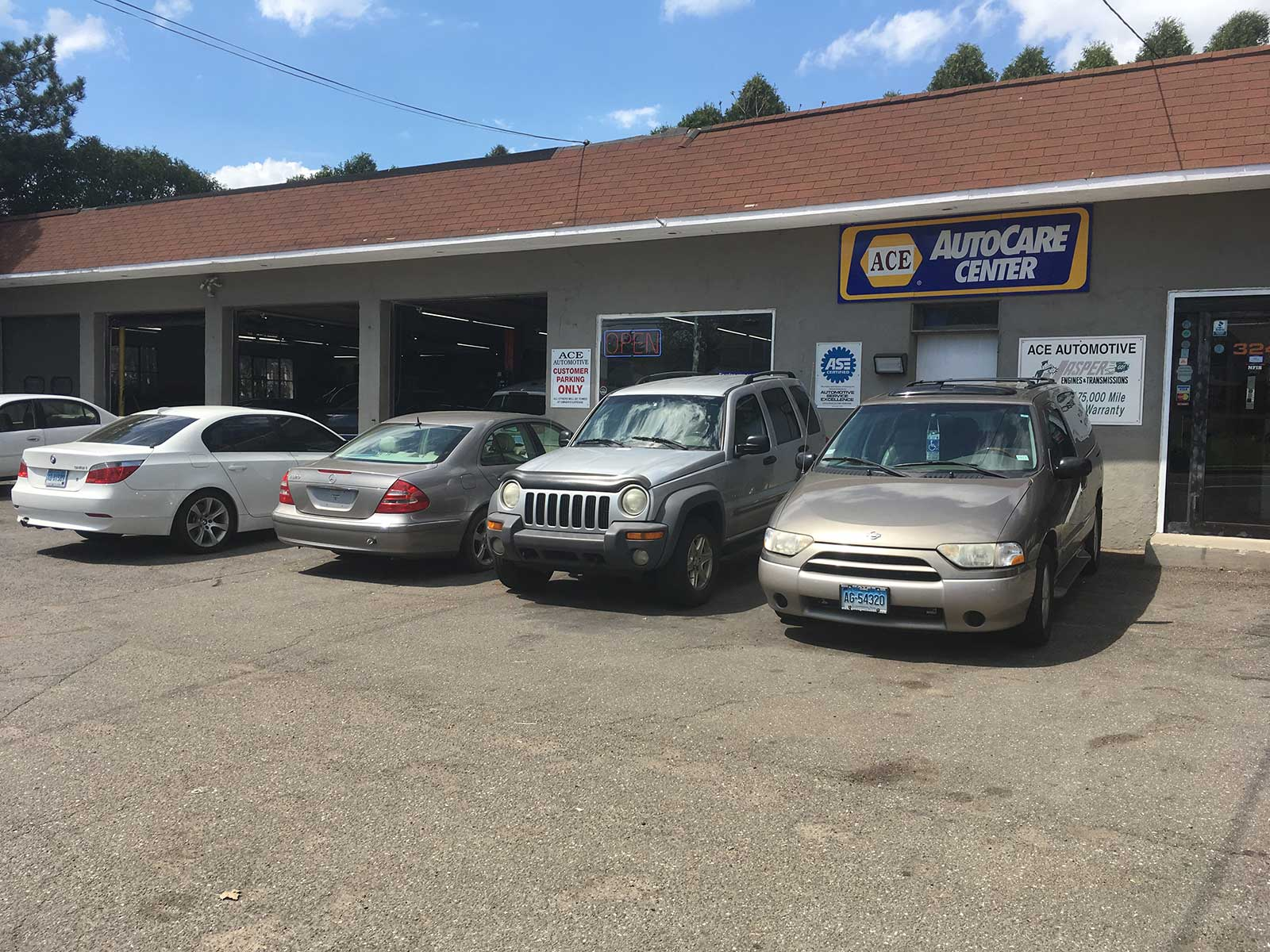 Ace Automotive Used Car Dealership Milford Ct
