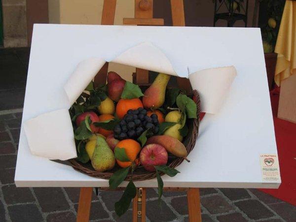 quadro con frutta