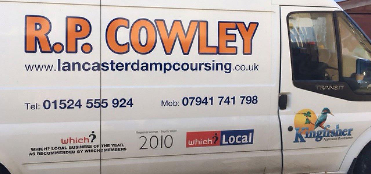 R P Cowley van