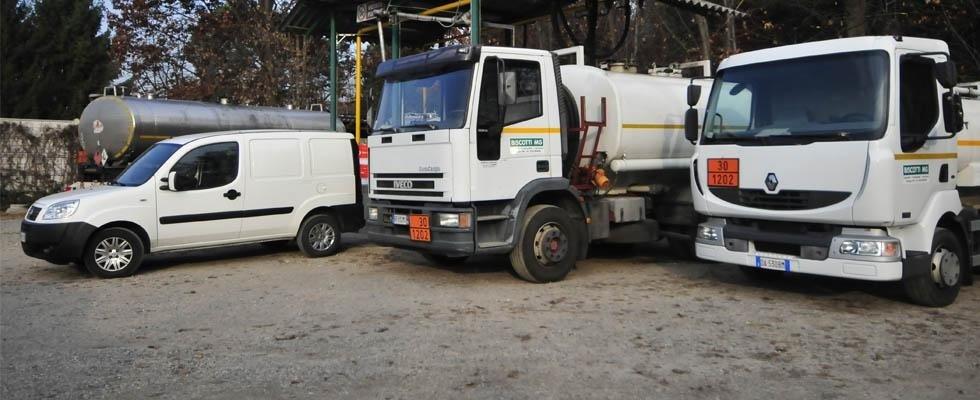 Forniture carburante Biscotti MG