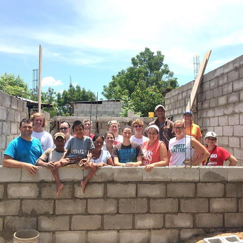 Youth Mission trip builds house in Guatemala