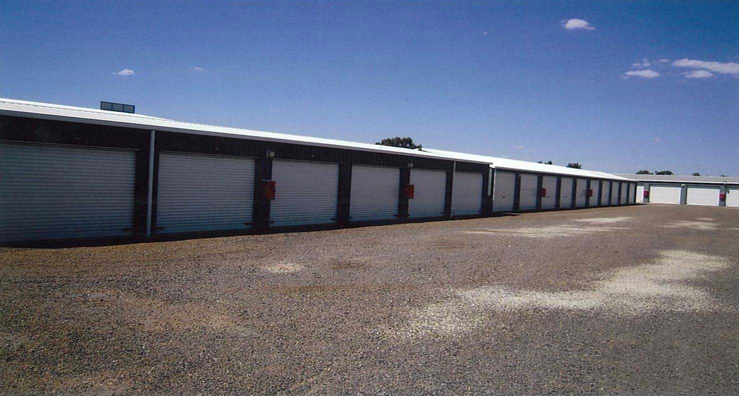 Self storage units in Yarrawonga