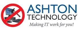 ashton technology brand logo