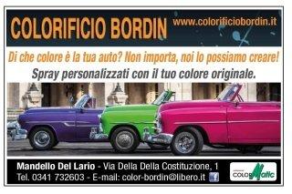 auto colorate vernice