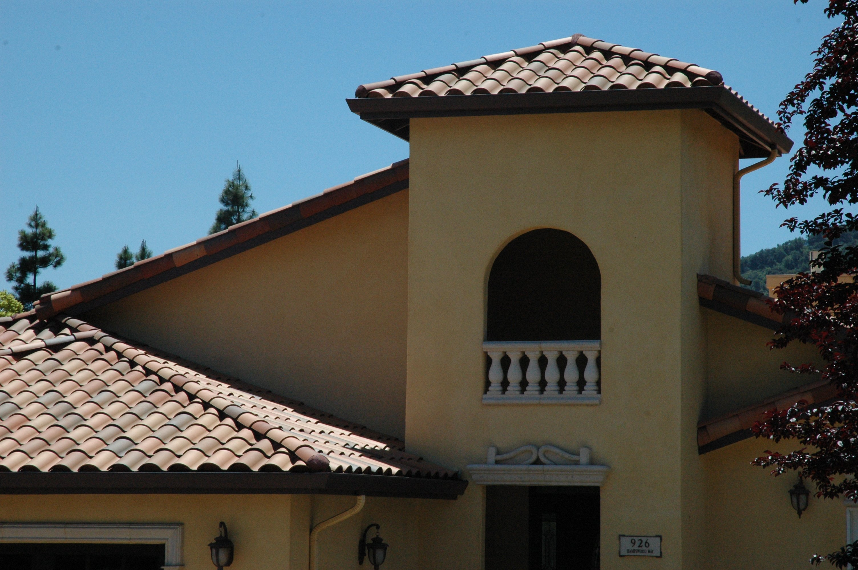 Beautiful clay tile roofs for homeowners