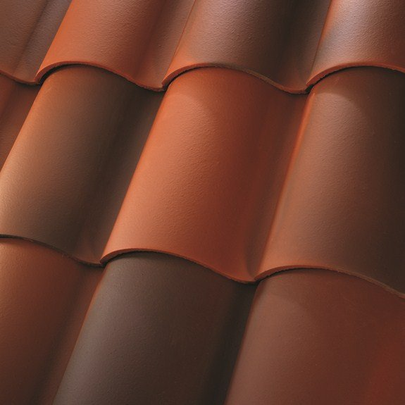 Beautiful clay tile roofs