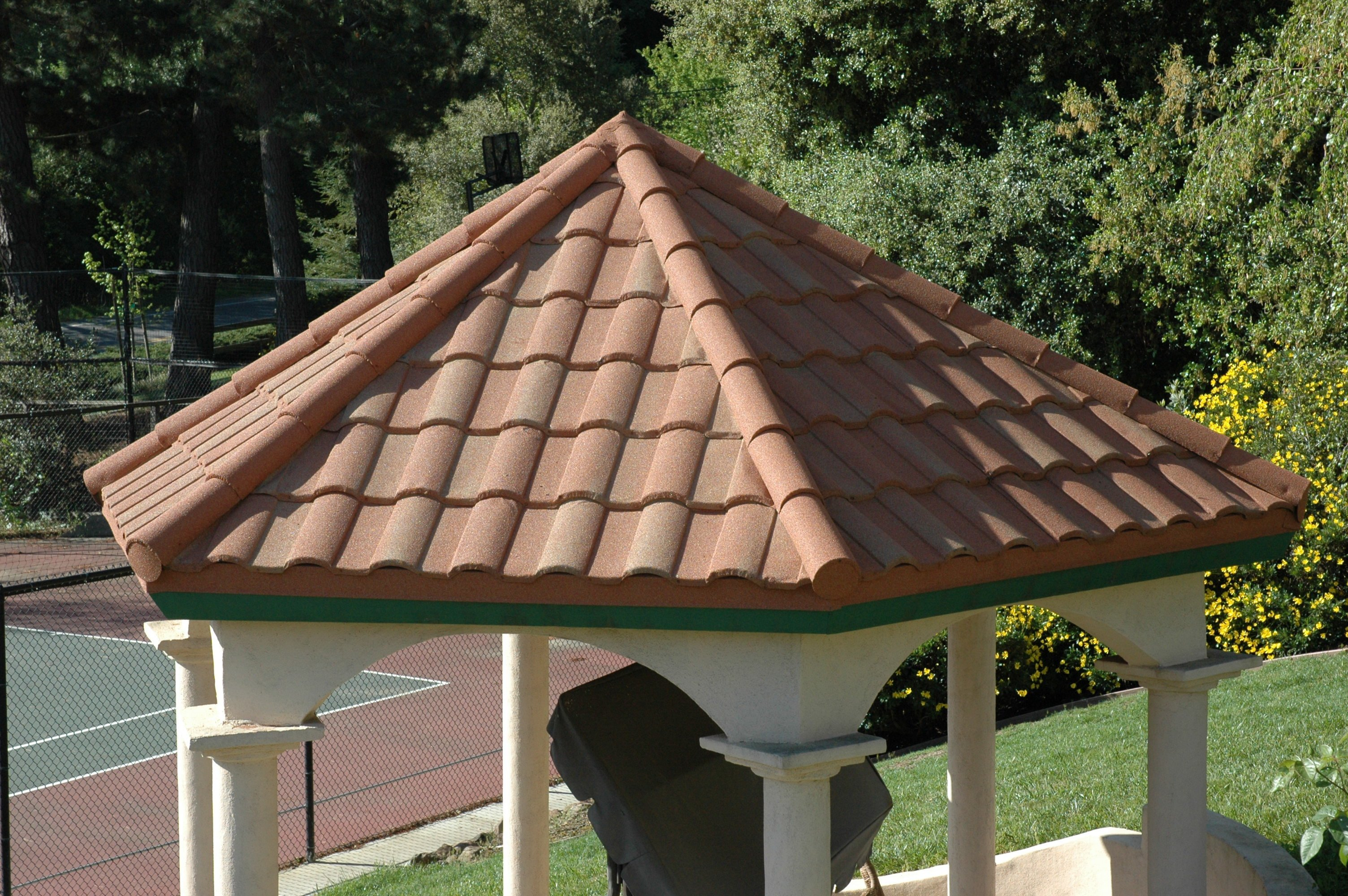 Stone coated steel roofing contractors new roof cost for Barrel tile roof colors