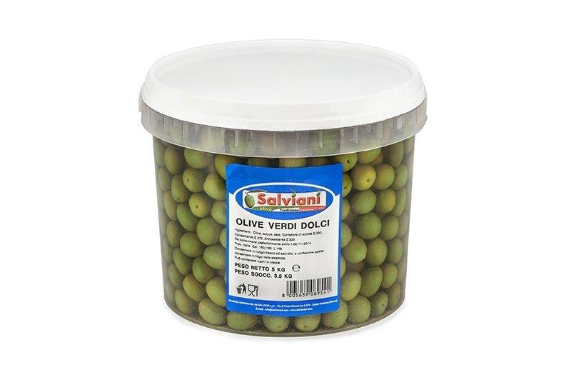 olive verdi dolci 5kg