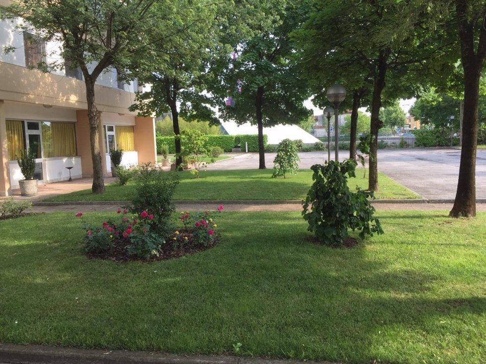 giardino dell`hotel