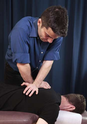 Dr. Michael Providing NYC Chiropractic Adjustments Located in the West Village of Manhattan New York City 10014