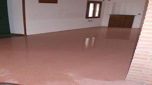 pavimento lucido e ristrutturato in provincia di Padova
