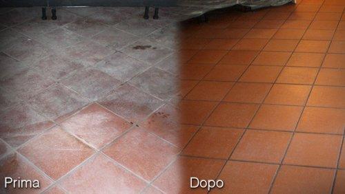 prima e dopo ristrutturazione pavimenti