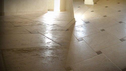 manutenzione pavimento in pietra in provincia di Padova