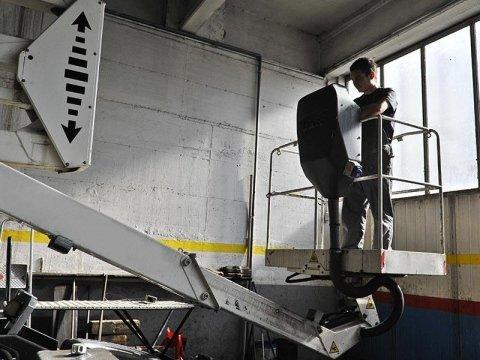assistenza cestelli elevatori