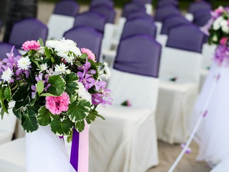 Event floral arrangements
