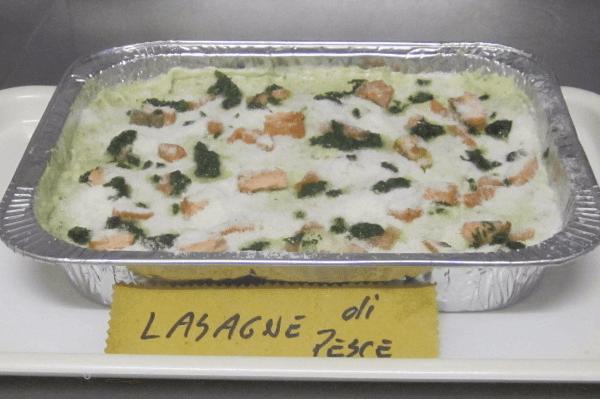 Gastronomia e pasta fresca a Cavout Torino Lasagna di pesce