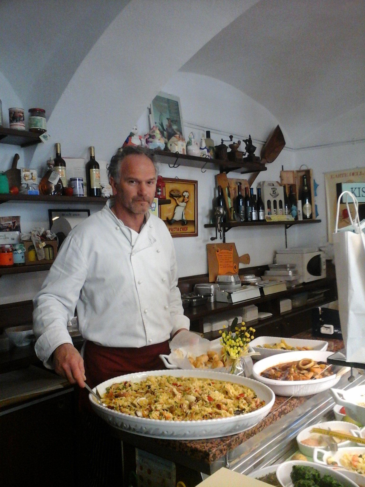 Gastronomia e pasta fresca a Cavout Torino Paella