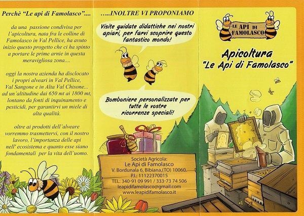 brochure del miele in vendita da Gastronomia e pasta fresca