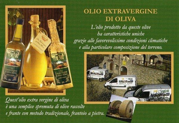 Olio extravergine di oliva Ferrari