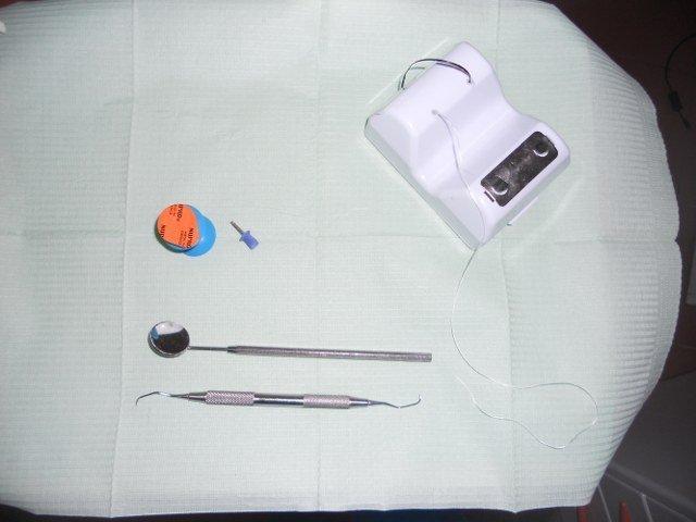 un dentista sorridente