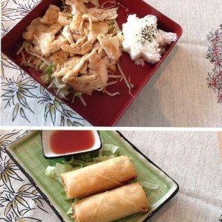 Menù ristorante giapponese