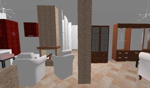 Progettazione Domus, esempio di salotto, Idroceramiche srl, Orbetello