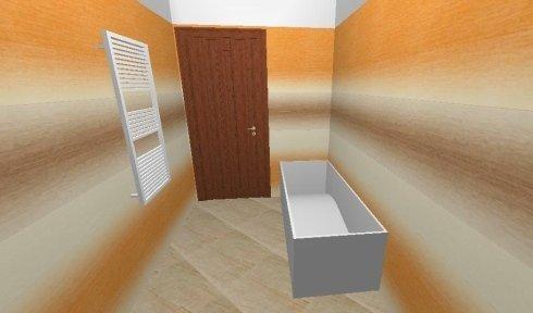 Progettazione Domus, esempio di bagno, Idroceramiche srl, Orbetello