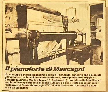Pianoforti Mascagni