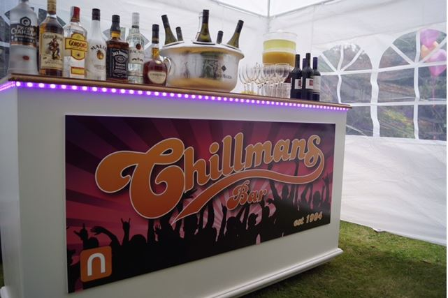 Chilmans bar by Keeley's Kitchen in Surrey