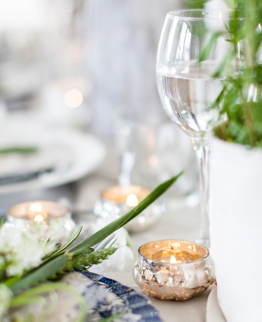 Beautiful rustic wedding place setting by Keeley's Kitchen in Surrey