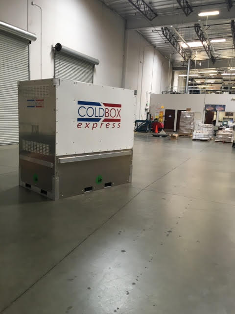 Omni Logistics Uses Cold Box As Active Refrigerated
