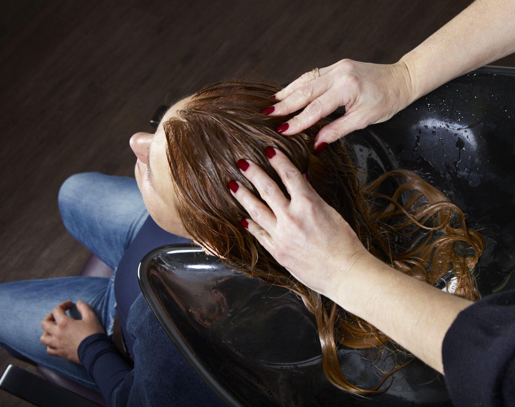 Massaggio dopo shampoo