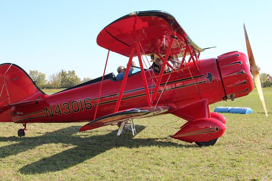 Red Biplane Ride