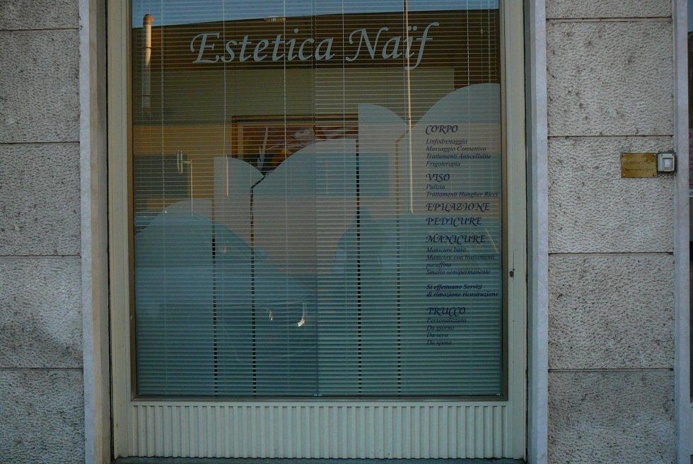 decorazione vetrina