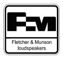 Logo Fletcher&Munson Loudspeakers TM