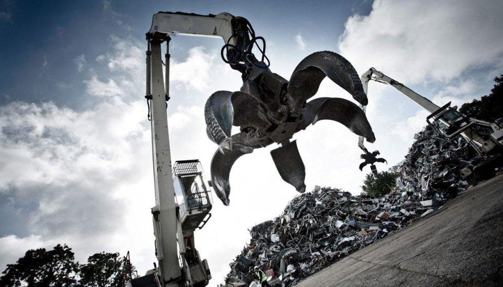 commercio di rottami ferrosi e metallici
